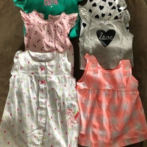 Other - Bundle of onesies and dress